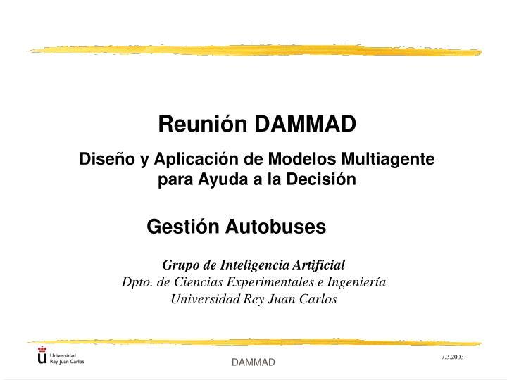 Reunión DAMMAD