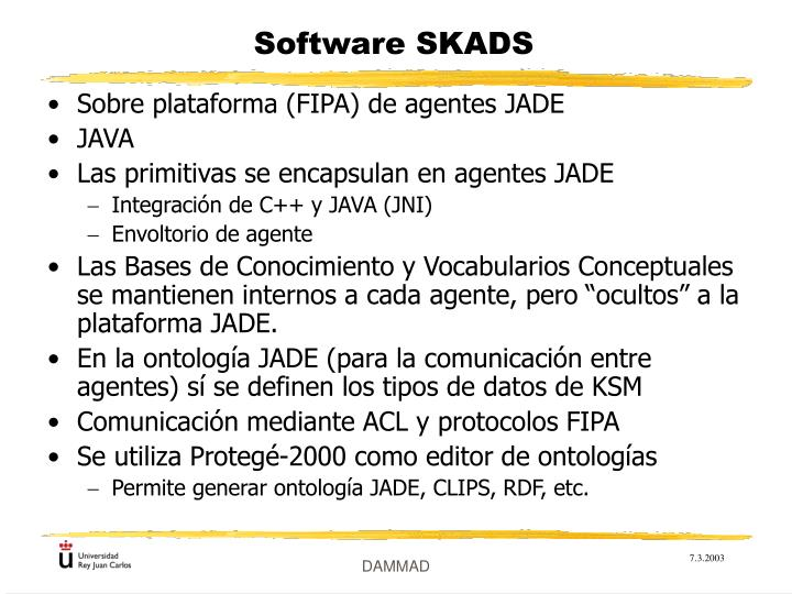 Software SKADS