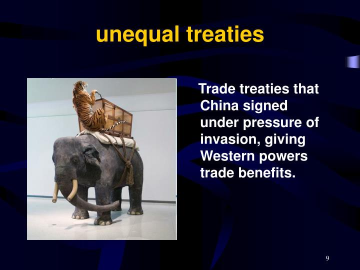 unequal treaties