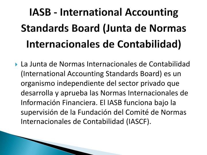 IASB - International