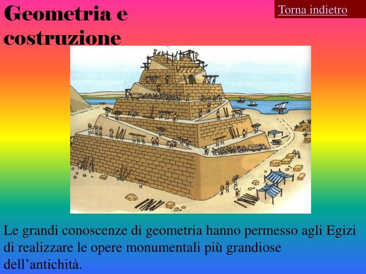 Geometria e costruzione