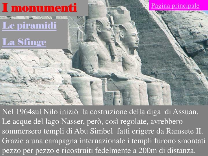 I monumenti