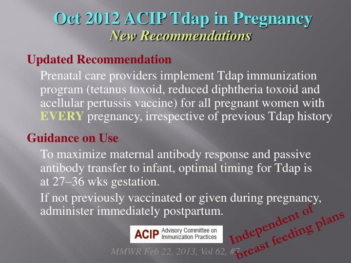 Oct 2012 ACIP