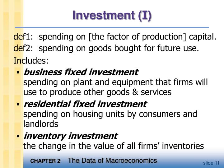 Investment (