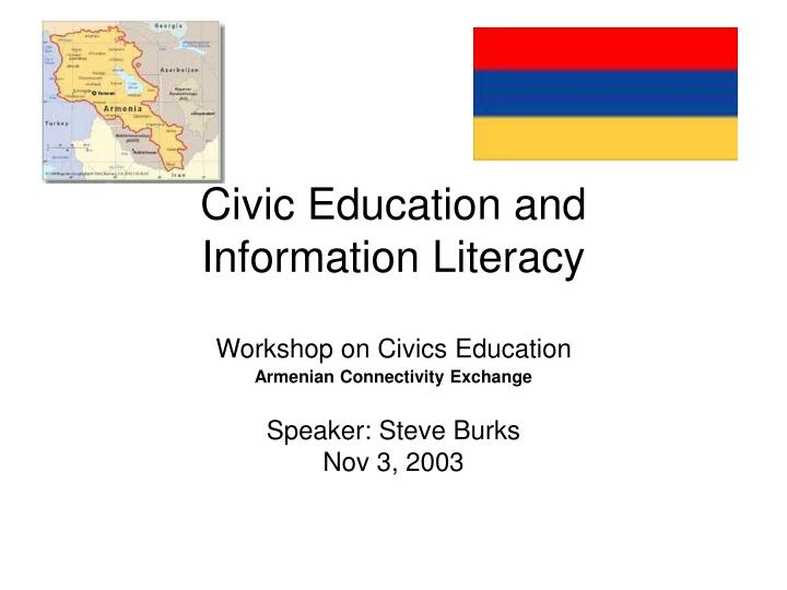 what is civic literacy Civic literacy students will demonstrate awareness of self and others and responsibilities of local, national, and international citizenship master template (fyi.