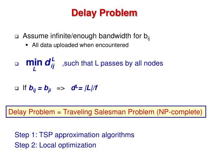 Delay Problem