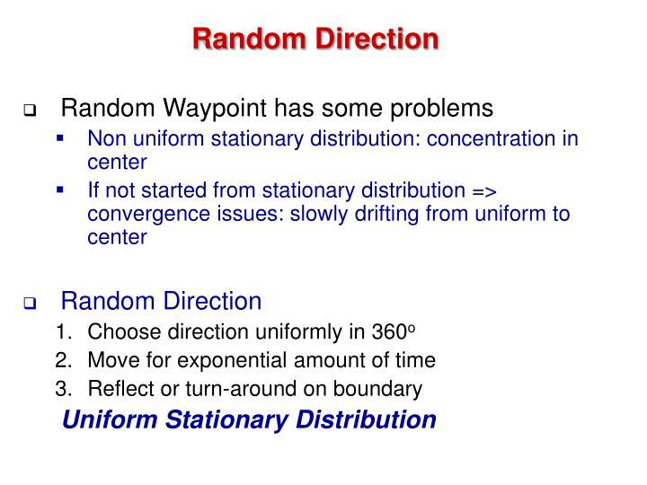 Random Direction