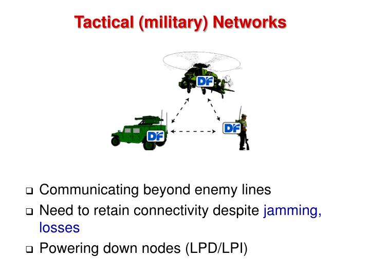 Tactical (military) Networks
