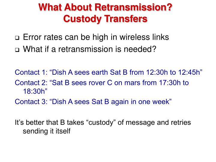 What About Retransmission?