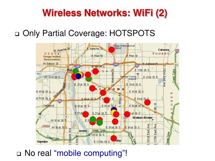 Wireless Networks: WiFi (2)
