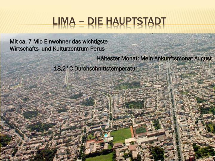 Lima – Die Hauptstadt