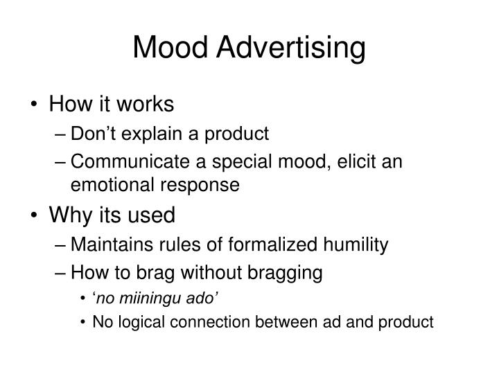 Mood Advertising