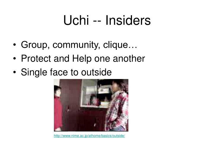 Uchi -- Insiders