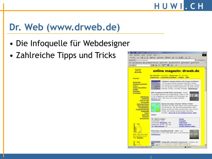 Dr. Web (www.drweb.de)