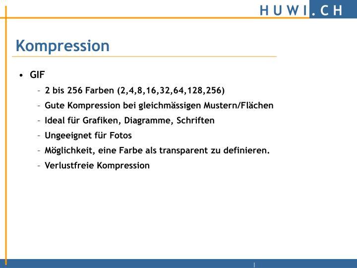 Kompression