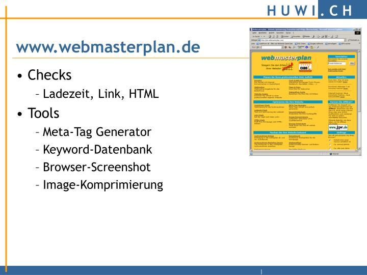 www.webmasterplan.de