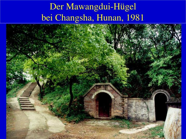 Der Mawangdui-Hügel