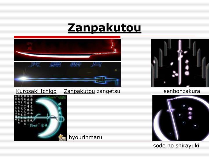 Zanpakutou