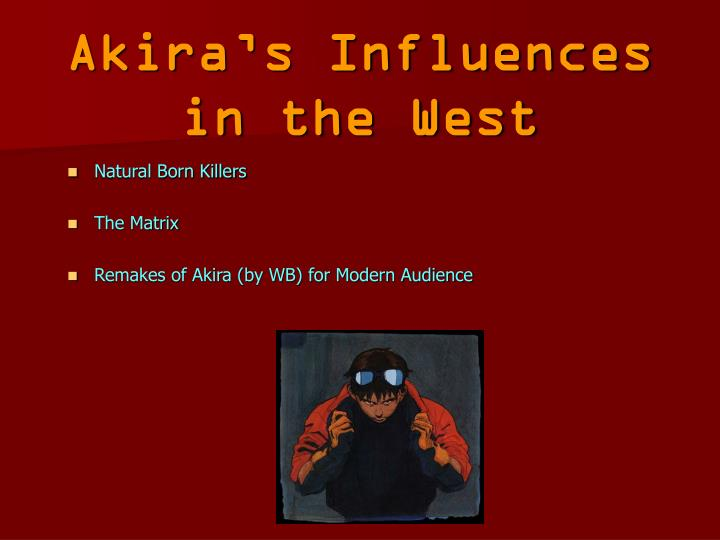 Akira's Influences in the West