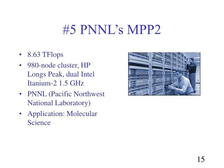 #5 PNNL's MPP2