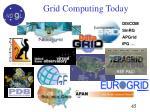 grid c grid computing today omputing today