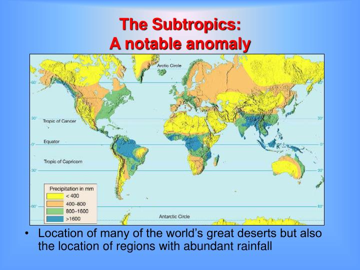 The Subtropics:
