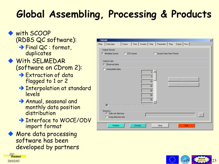 Global Assembling, Processing & Products