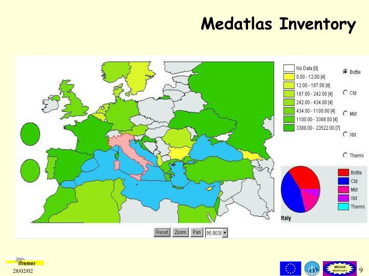 Medatlas Inventory