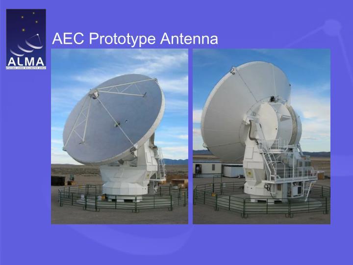 AEC Prototype Antenna
