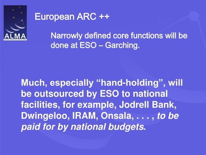 European ARC ++