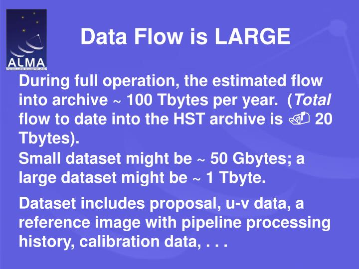 Data Flow is LARGE