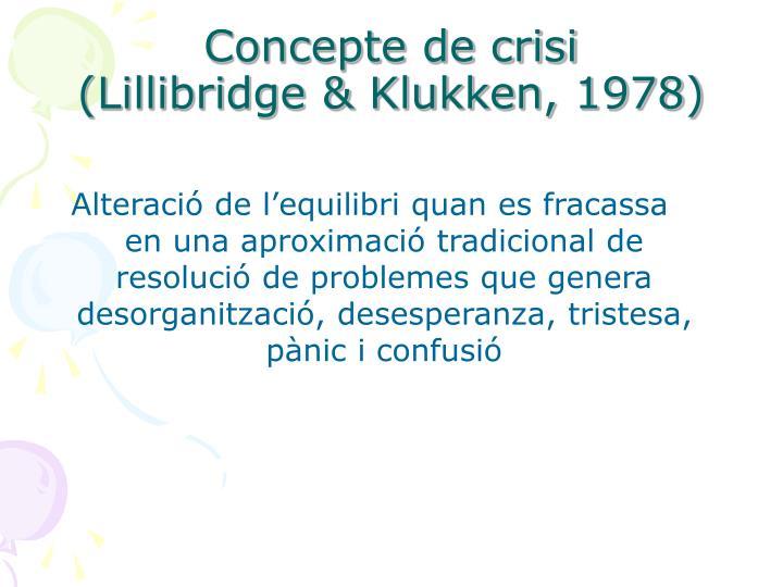 Concepte de crisi