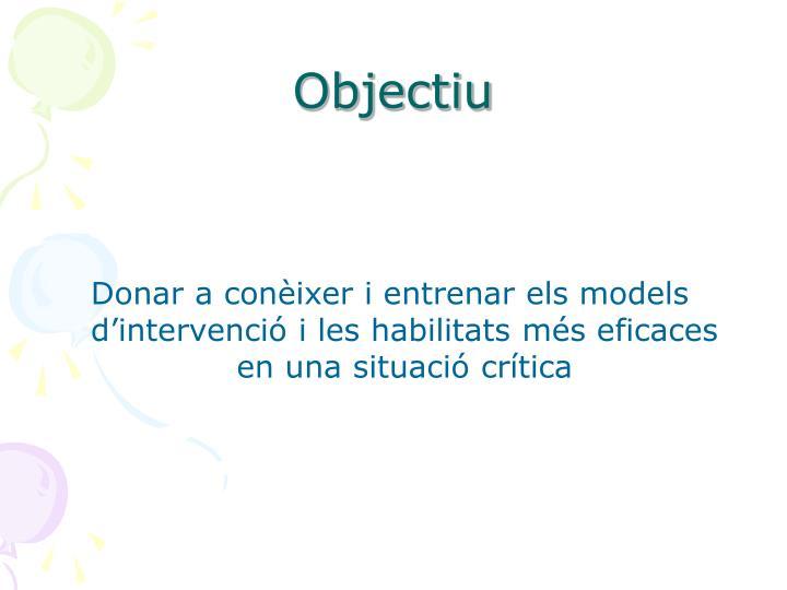 Objectiu