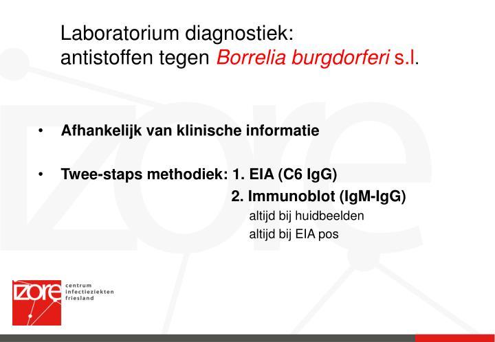 Laboratorium diagnostiek: