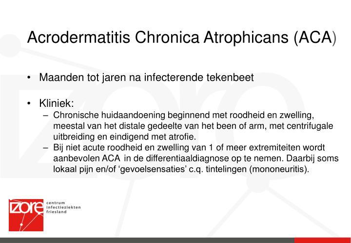 Acrodermatitis Chronica Atrophicans (ACA
