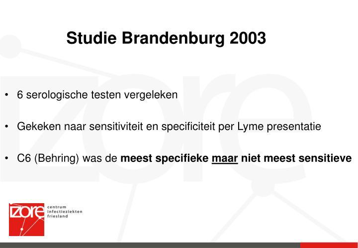 Studie Brandenburg 2003