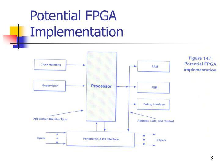 Potential FPGA Implementation