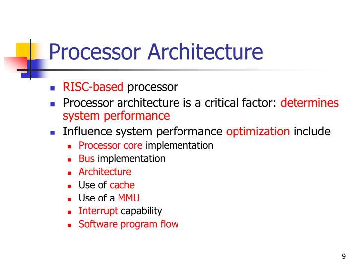 Processor Architecture