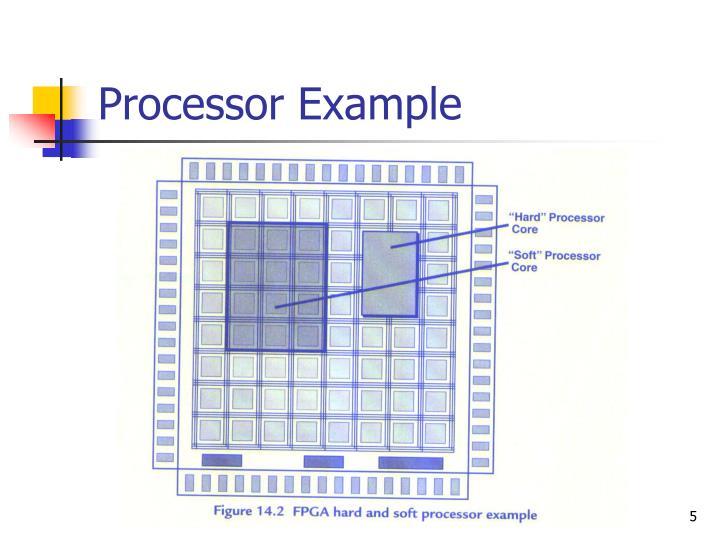 Processor Example
