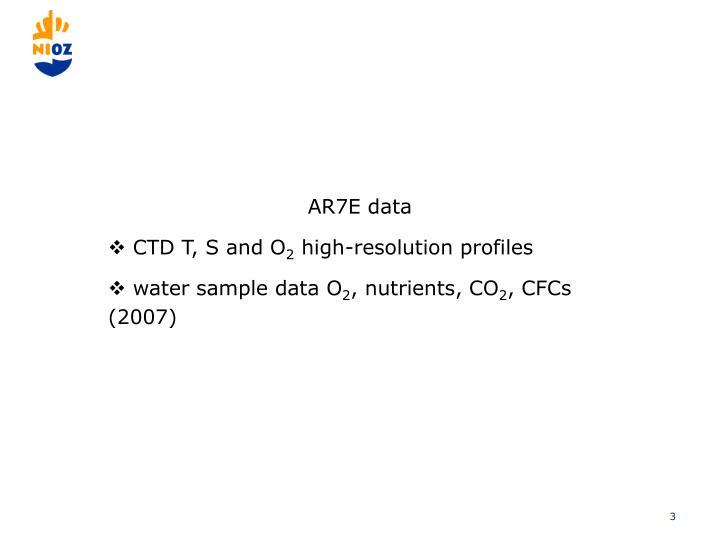 AR7E data