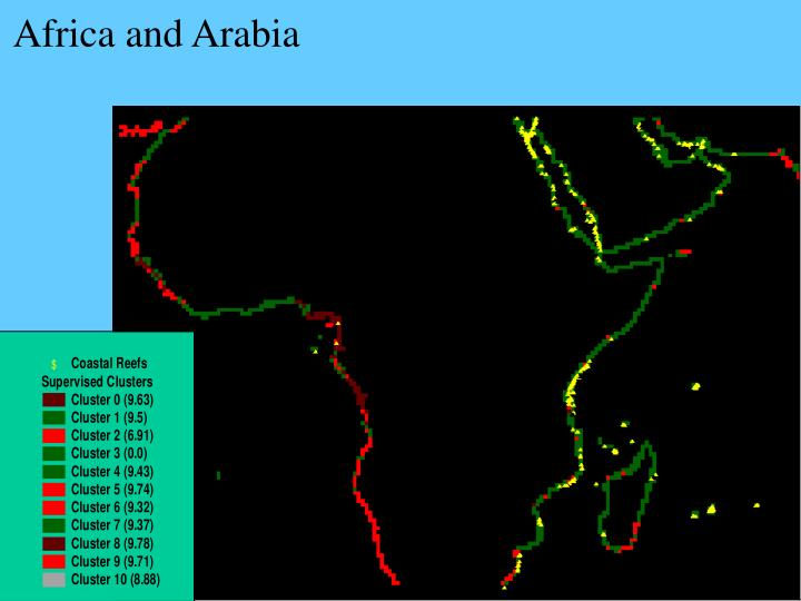 Africa and Arabia