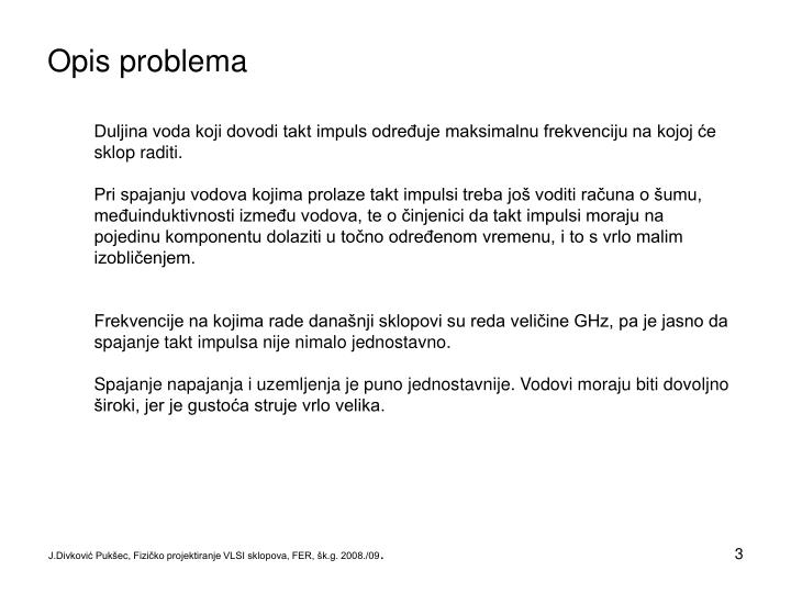 Opis problema1