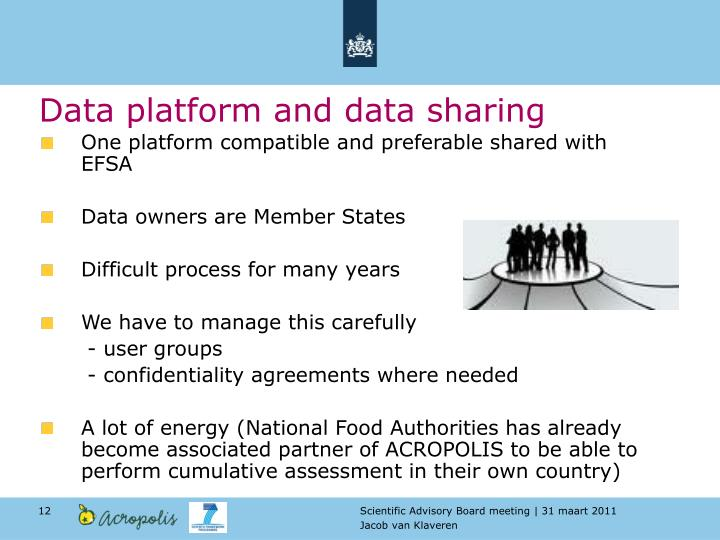 Data platform and data sharing