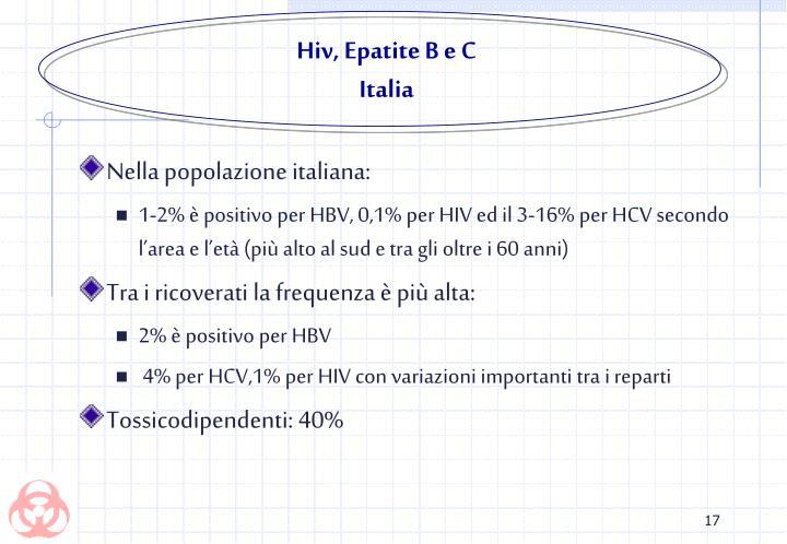 Hiv, Epatite B e C