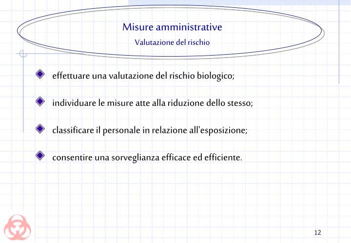 Misure amministrative