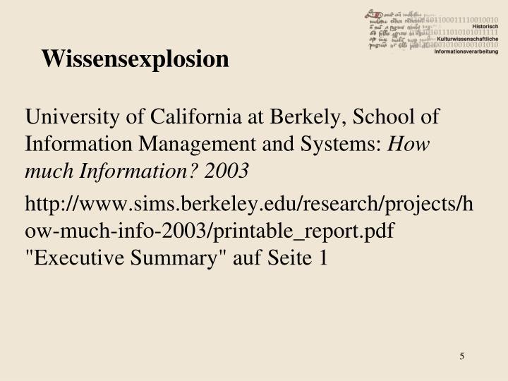 Wissensexplosion