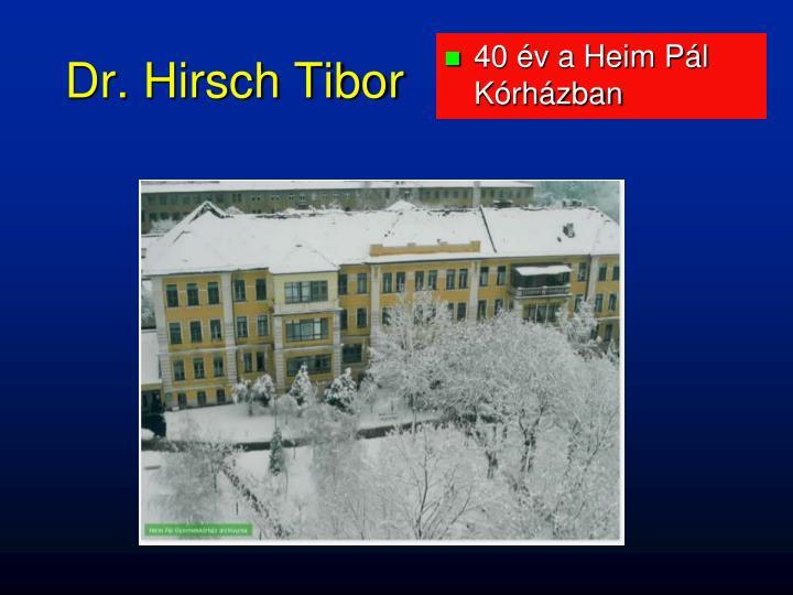 40 év a Heim Pál Kórházban