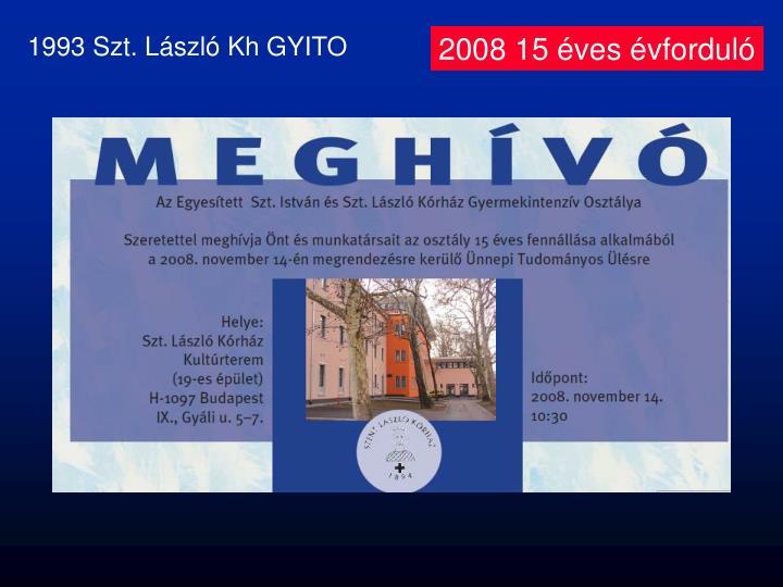 1993 Szt. László Kh GYITO