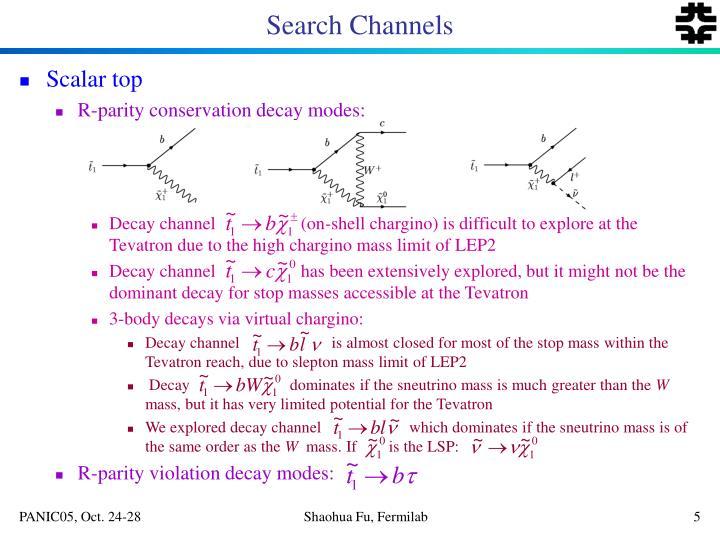 Search Channels