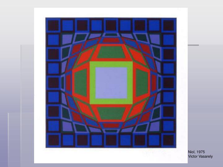 Niol, 1975  Victor Vasarely
